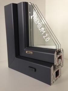 Premium 2.0  - Fenster Außenansicht